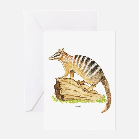 Numbat Banded Anteater Greeting Card