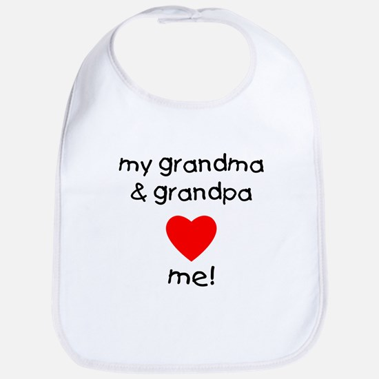 My grandma & grandpa love me Bib
