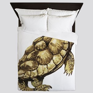 Alligator Snapping Turtle Queen Duvet