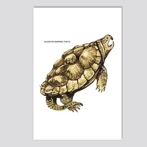 Alligator Snapping Turtle Postcards (Package of 8)