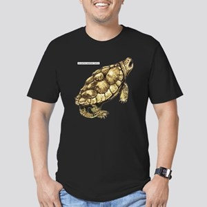 Alligator Snapping Turtle Men's Fitted T-Shirt (da