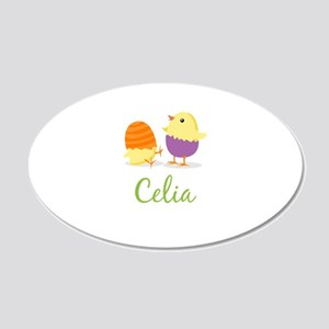 Easter Chick Celia Wall Decal