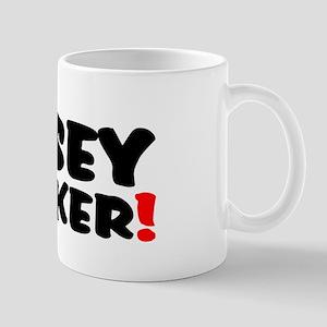 NOSEY PARKER! Small Mug