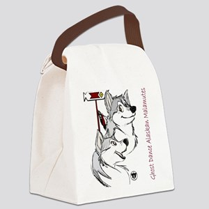 Ghost Dance logo Canvas Lunch Bag