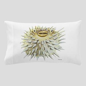 Puffer Fish Pillow Case