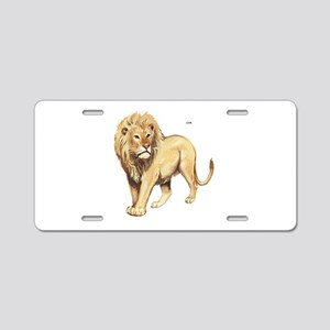 Lion Animal Aluminum License Plate