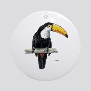 Toucan Bird Ornament (Round)