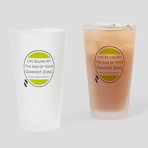 'Comfort Zone' Drinking Glass