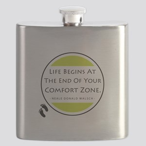'Comfort Zone' Flask