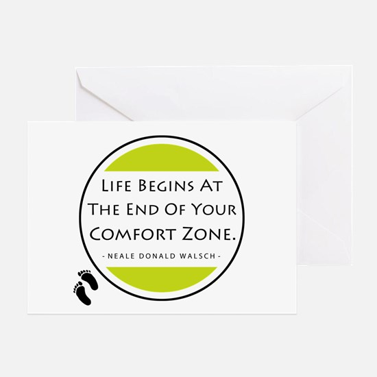 'Comfort Zone' Greeting Card