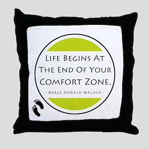 'Comfort Zone' Throw Pillow