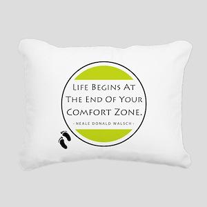 'Comfort Zone' Rectangular Canvas Pillow