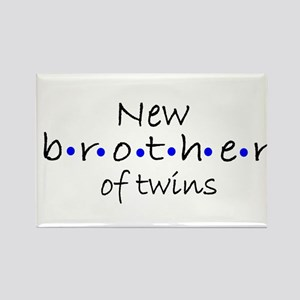 Brother of twins Rectangle Magnet
