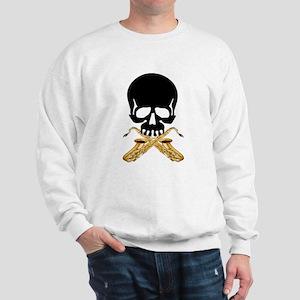 Skull with Saxophones Sweatshirt
