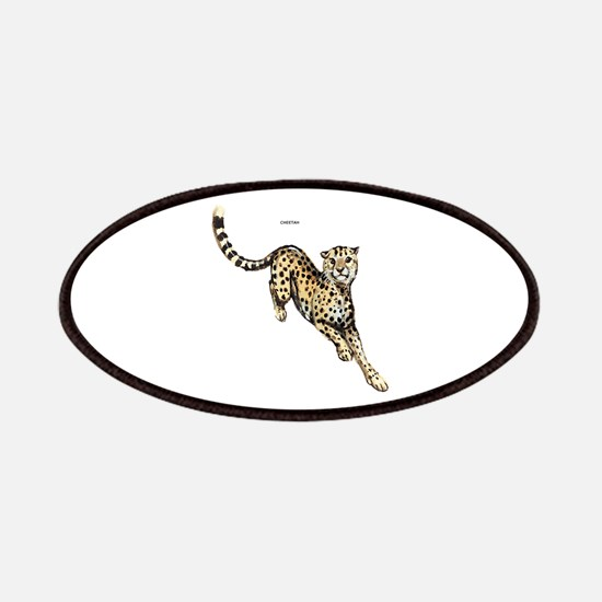 Cheetah Wild Cat Patches