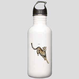 Cheetah Wild Cat Stainless Water Bottle 1.0L