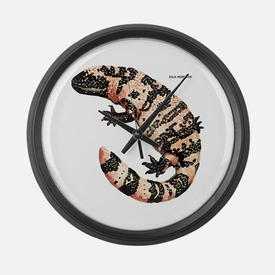 Gila Monster Lizard Large Wall Clock