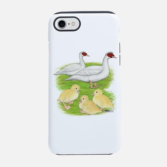 Duck White Muscovy Family Iphone 7 Tough Case