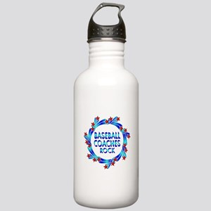 Baseball Coaches Rock Stainless Water Bottle 1.0L