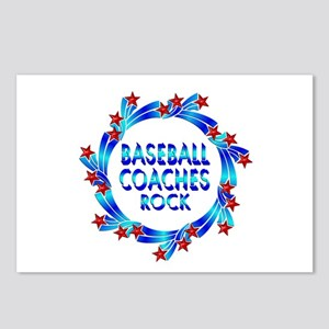 Baseball Coaches Rock Postcards (Package of 8)