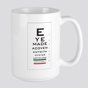 Jobs Eye Chart Mug
