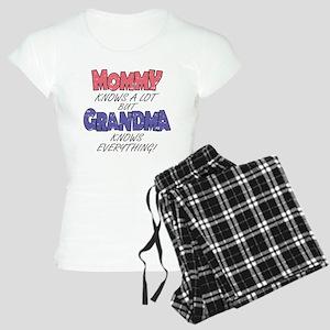 Grandma Knows Everything Pajamas