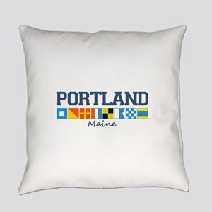 Portland Me Everyday Pillow
