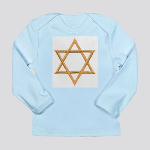 Star of David for Passover Long Sleeve Infant T-Sh