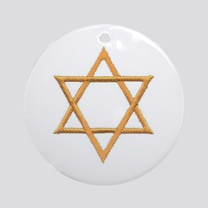 Star of David for Passover Ornament (Round)