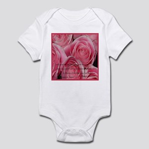 Shower of Roses, St. Therese Infant Bodysuit