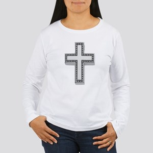 Silver Cross/Christian Women's Long Sleeve T-Shirt