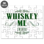 Whiskey Me I Am Irish Puzzle
