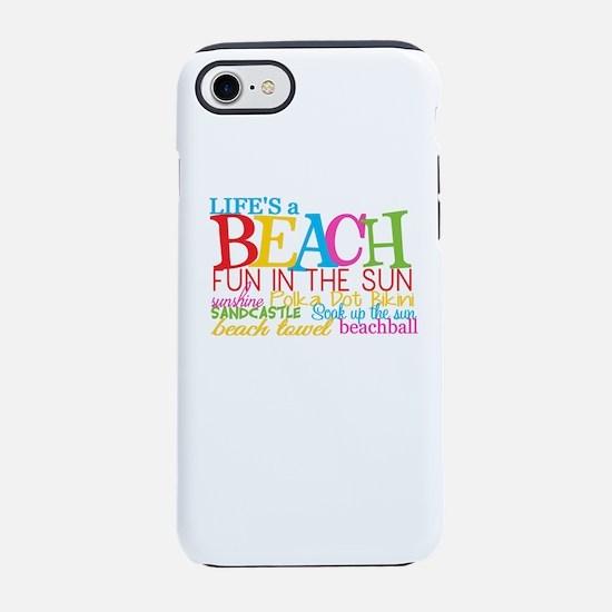 Beach Iphone 7 Tough Case