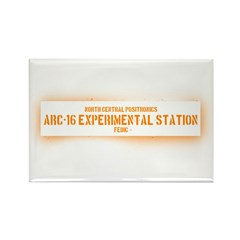 Limited Run #1 (Arc 16) Rectangle Magnet