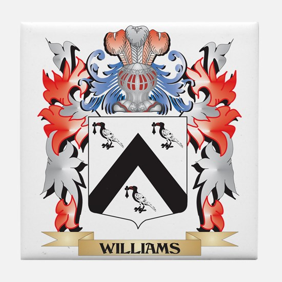 Williams Coat of Arms - Family Crest Tile Coaster