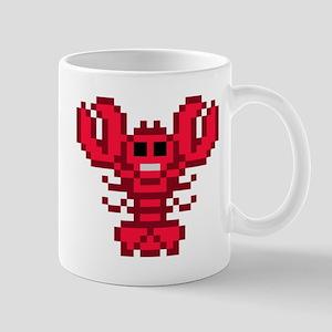 8bit lobster red 11 oz Ceramic Mug