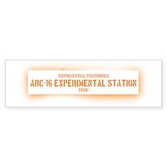 Limited Run #1 (Arc 16) Bumper Bumper Sticker
