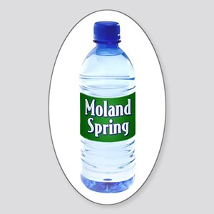 Moland Spring Oval Sticker