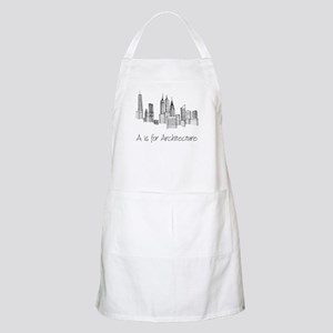 A is for Architecture Skyline Apron