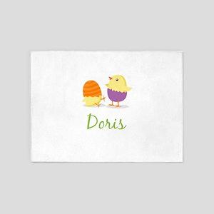 Easter Chick Doris 5'x7'Area Rug