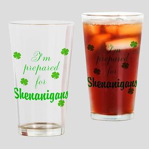 Shenanigans Preparation Drinking Glass