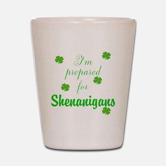 Shenanigans Preparation Shot Glass