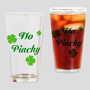 No Pinchy Drinking Glass