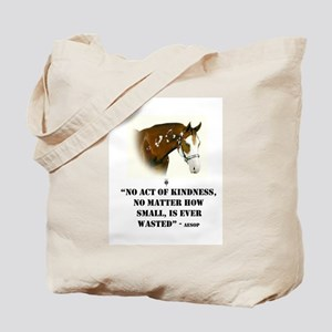 AESOP: No Act Of Kindness, Is Ever Wasted Tote Bag