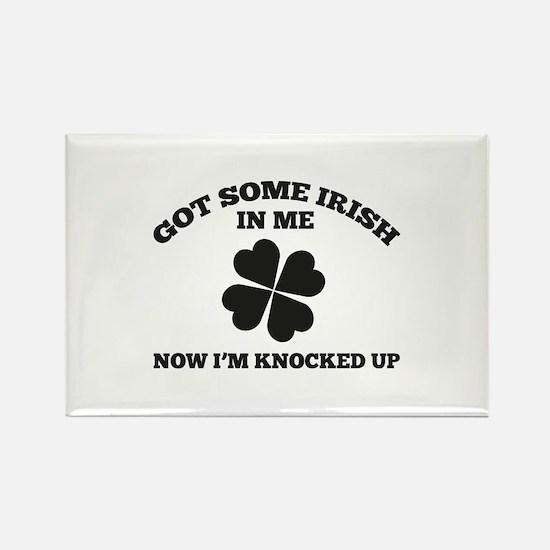 Got Some Irish In Me Rectangle Magnet
