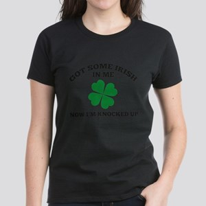 Got Some Irish In Me Women's Dark T-Shirt