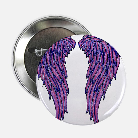 "Angel Wings 2.25"" Button"