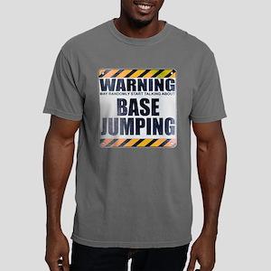 Warning: Base Jumping Mens Comfort Colors Shirt