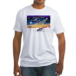 XSunrise - Crested (#9) Fitted T-Shirt