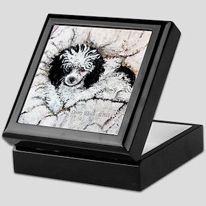 Toy Poodle Keepsake Box